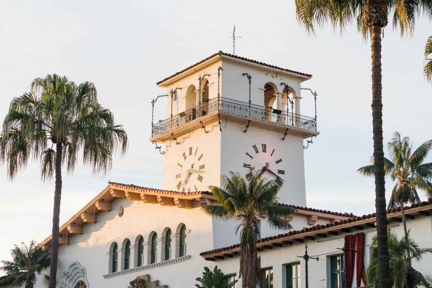 Santa Barbara itinerary: Courthouse