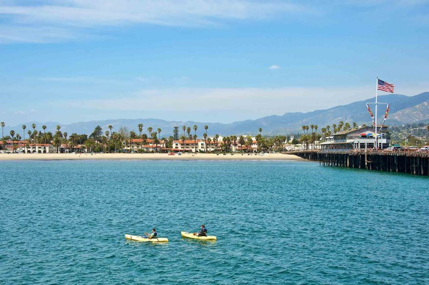 Things to do in Santa Barbara: Kayaking