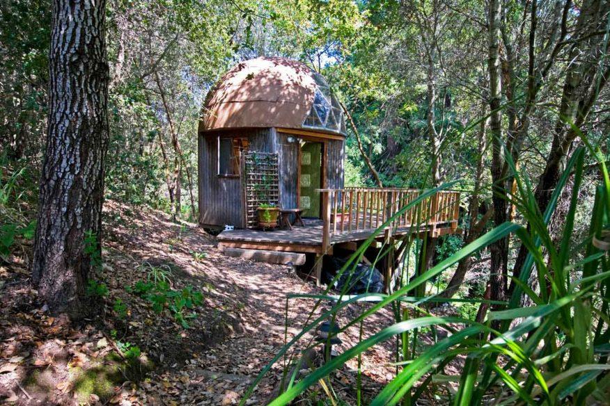 AirBnB Mushroom dome Santa Cruz