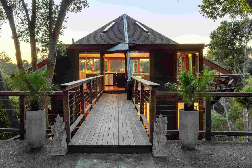 Aptos treehouse Santa Cruz