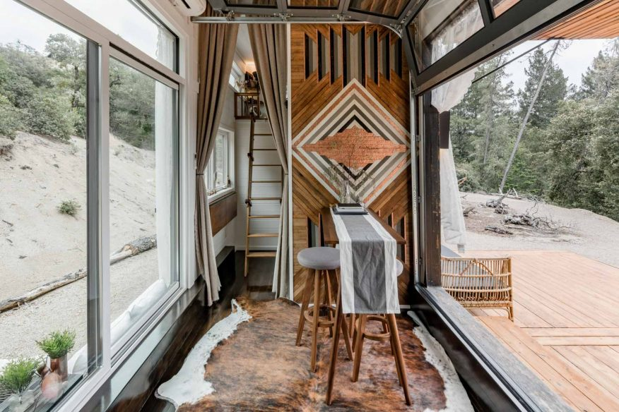 Rustic cabin Santa Cruz AirBnB