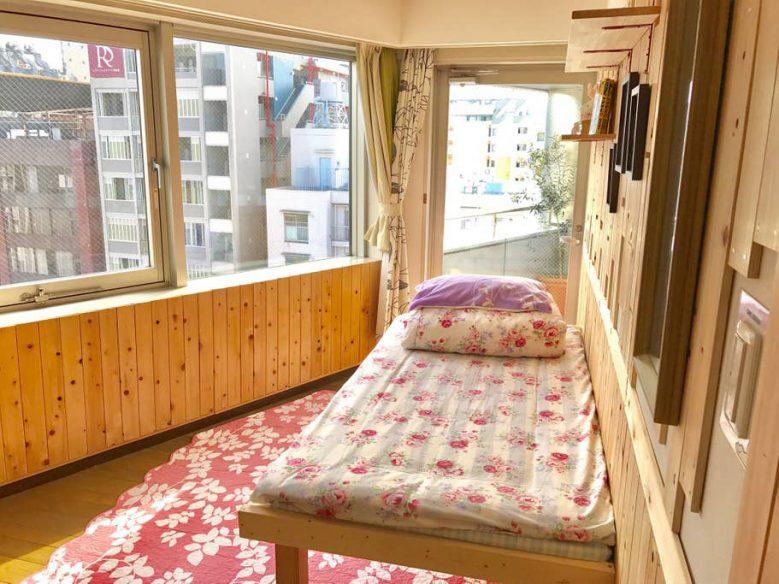 Shinjuku dorm AirBnB