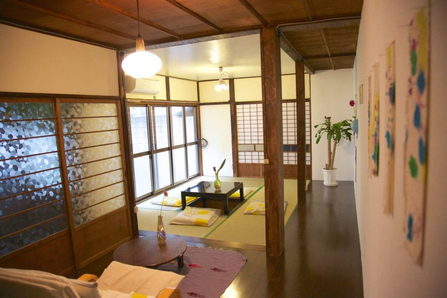 Traditional Japanese house AirBnB
