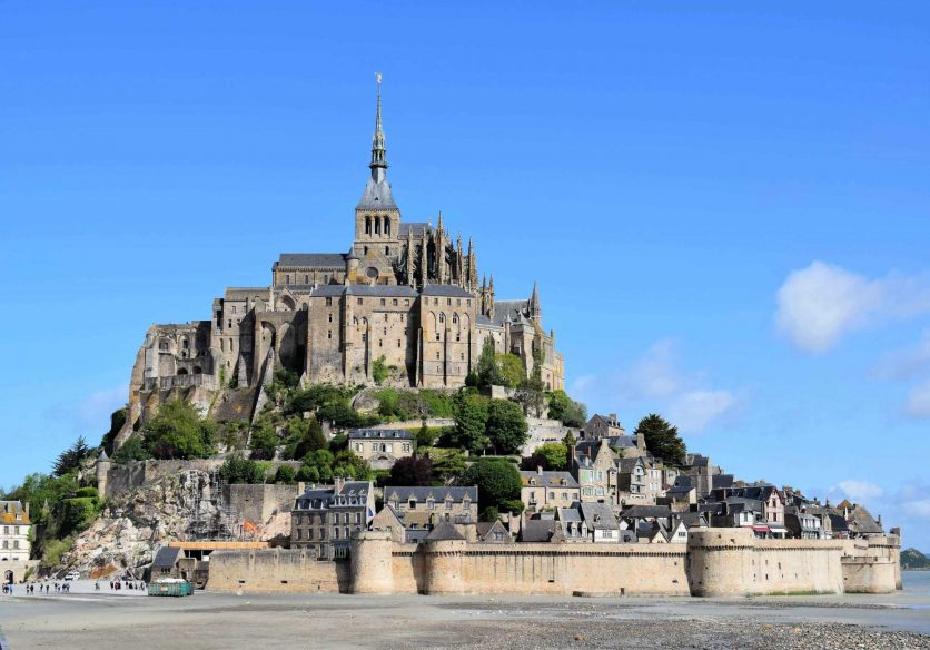 Best road trips in France - Mont St Micheal