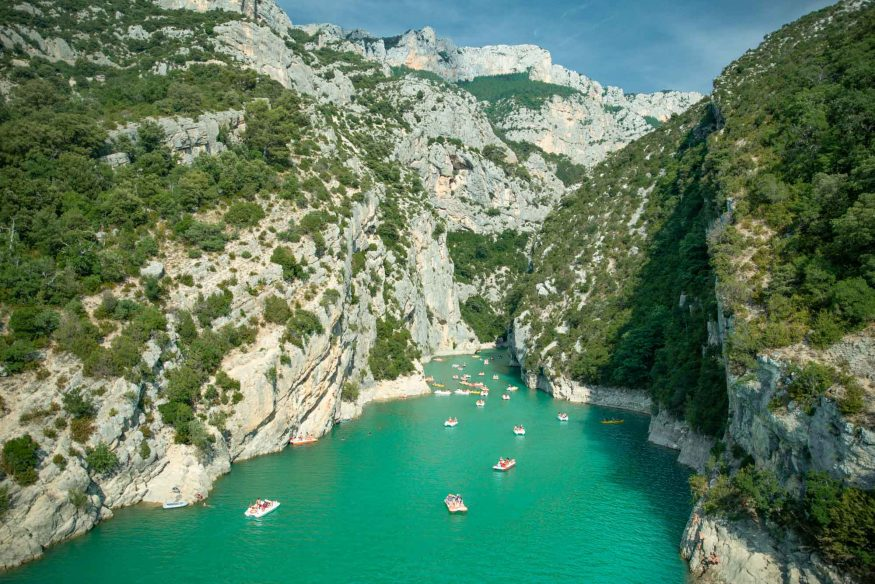 Best road trips in France - Verdon Gorge