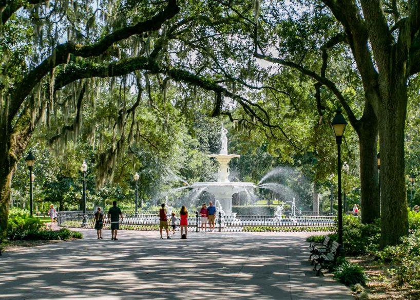 Forsyth Park via Visit Savannah