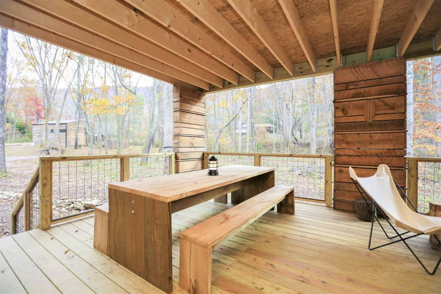 Asheville cabin with hot tub
