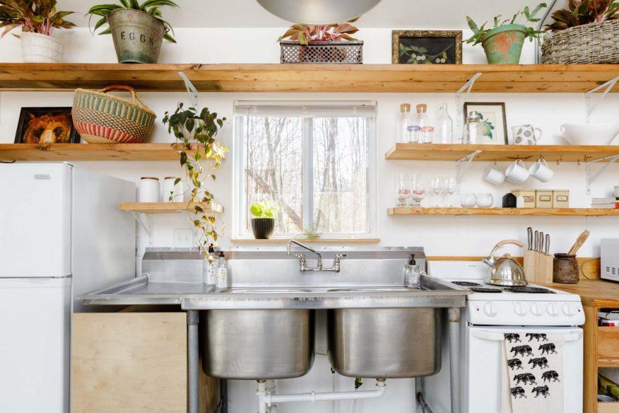 Eclectic stylish cabin Asheville