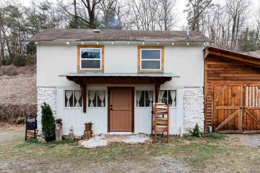 Gashes Fluss Haus Asheville Airbnb