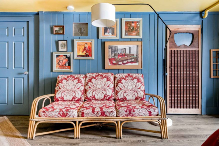 Retro vintage Airbnb Asheville