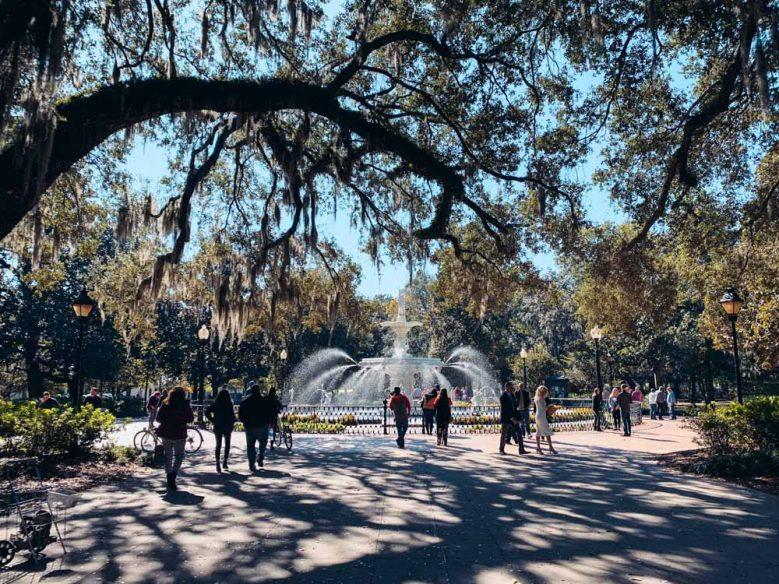Savannah - Forsyth Fountain