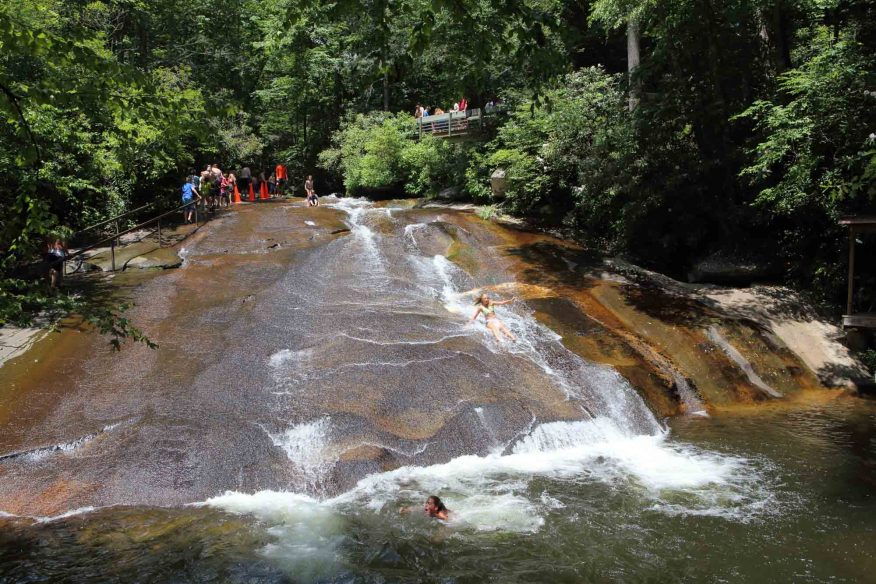 Sliding Rock, Asheville
