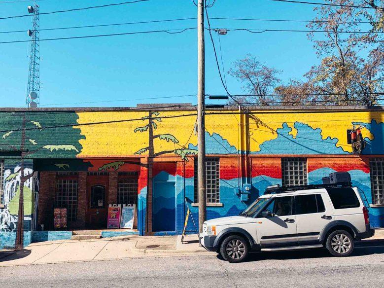 Street art Asheville