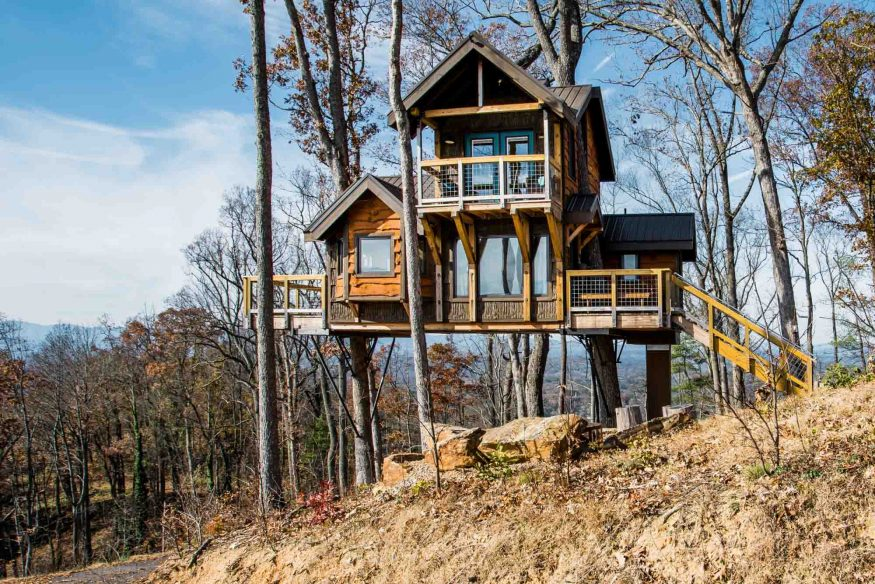 Airbnb Treehouse Asheville