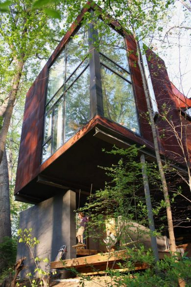 West Asheville Sanctuary in the trees