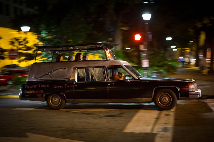 Things to do in Savannah - Hearse Tours