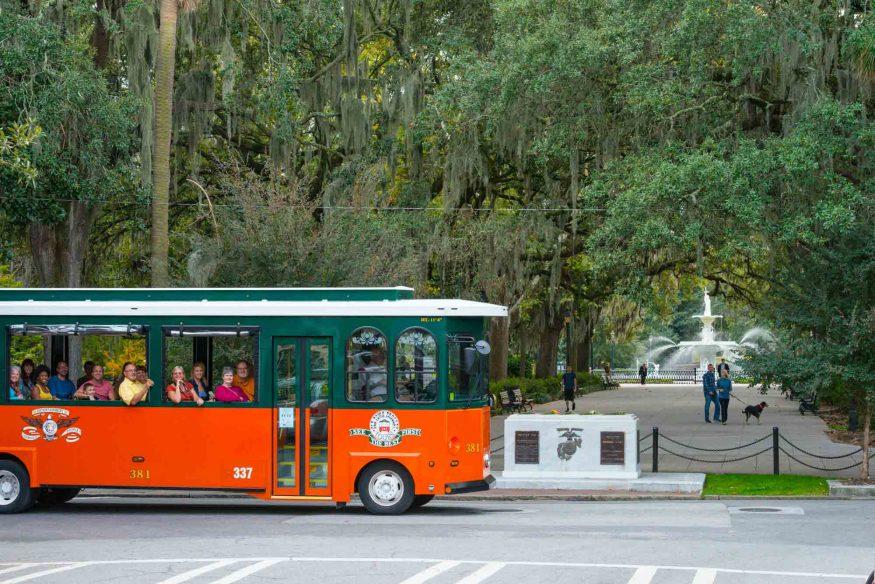 Savannah Trolley tour