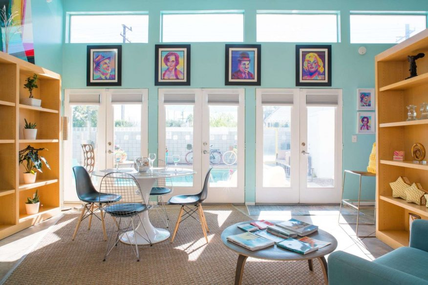 Colourful Oasis - Airbnb Palm Springs