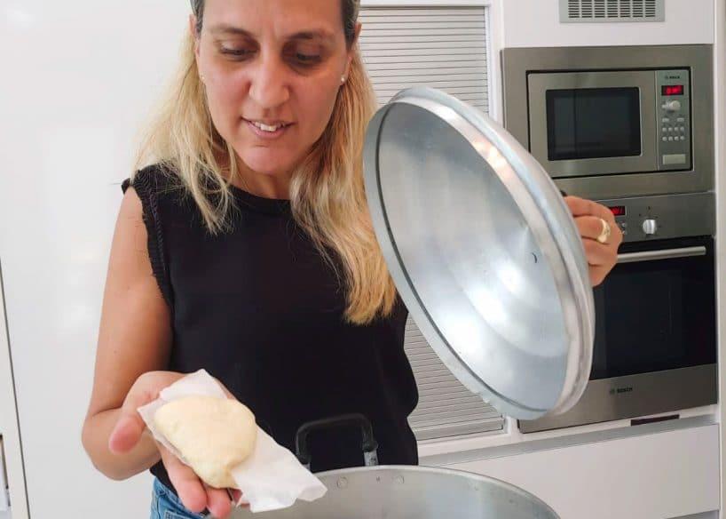 Steamed buns cooking class online