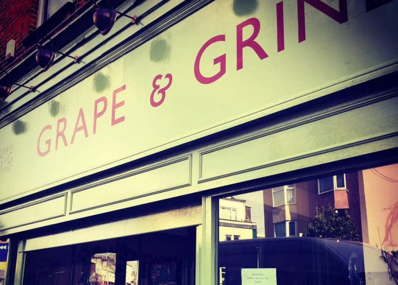 Best Bristol food delivery - Grape and Grind