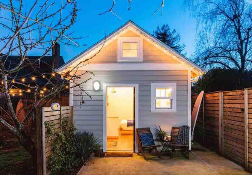 Portland Tiny House - Airbnb Portland