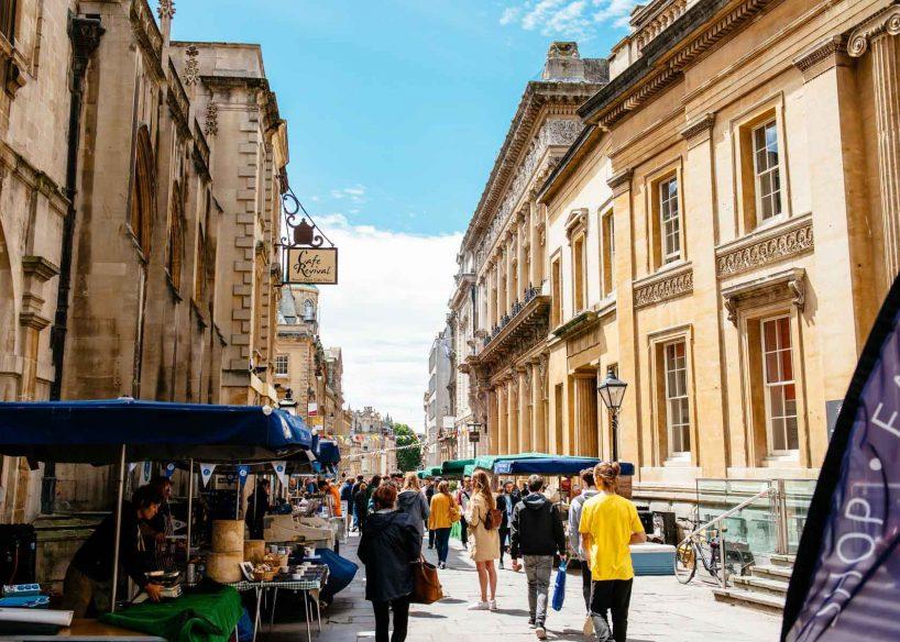 Best Bristol Restaurants: St Nick's Market