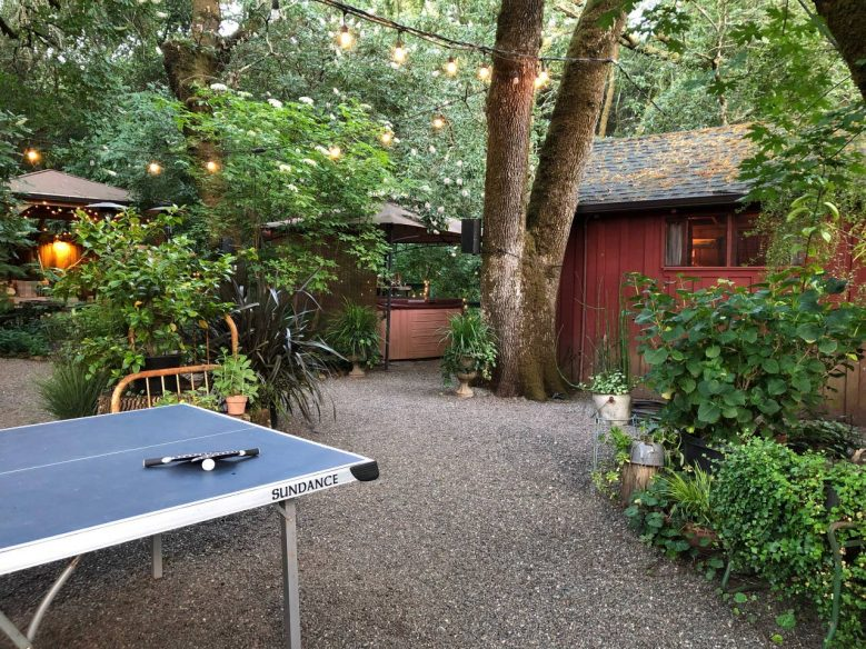 Wine Country Cabin in Woods -Airbnb Sonoma