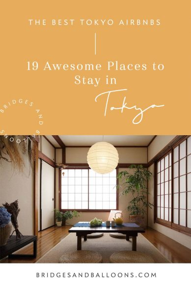 The Best of Tokyo Airbnb