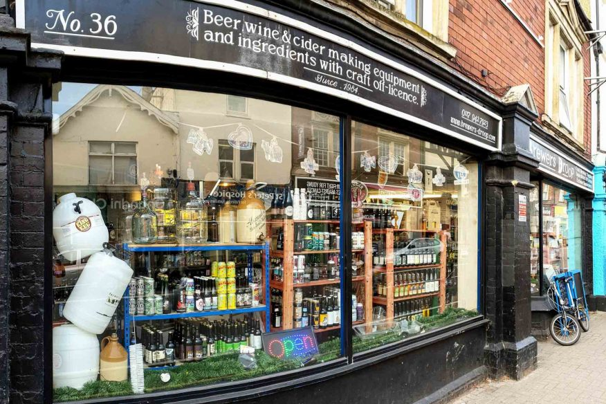 Best shops in Bristol - Brewers Droop