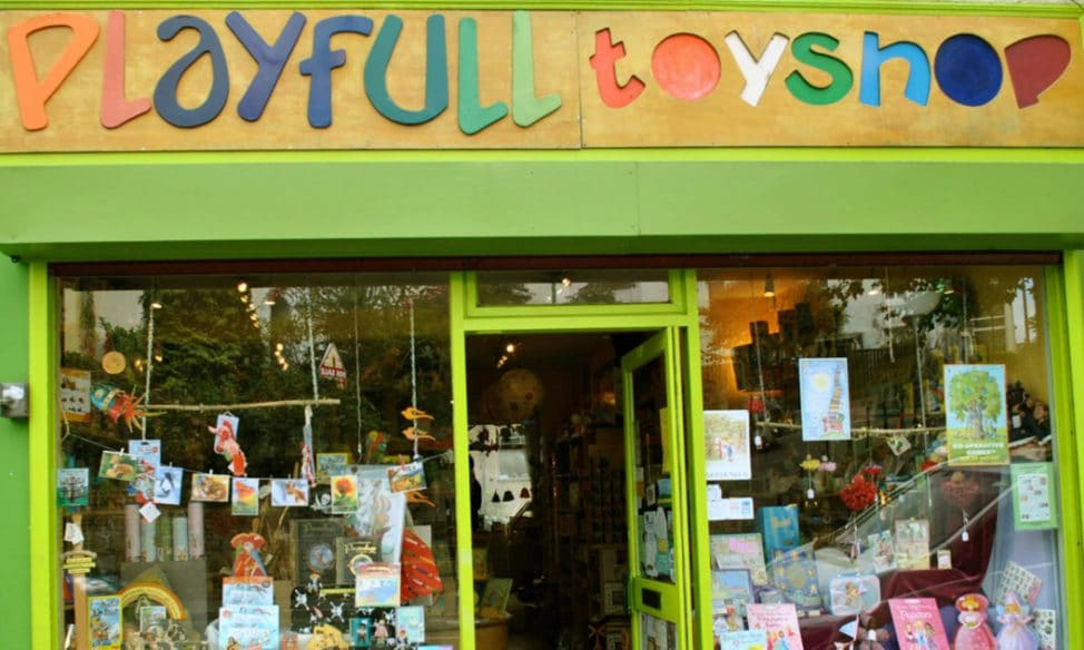 Best independent shops in Bristol - Playfull Toyshop